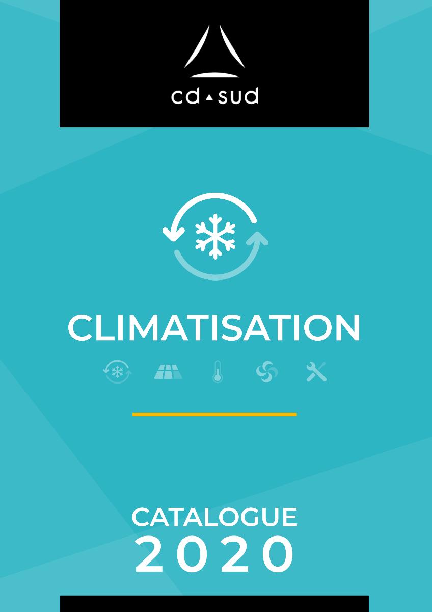 Page de couverture catalogue climatisation CD SUD 2020