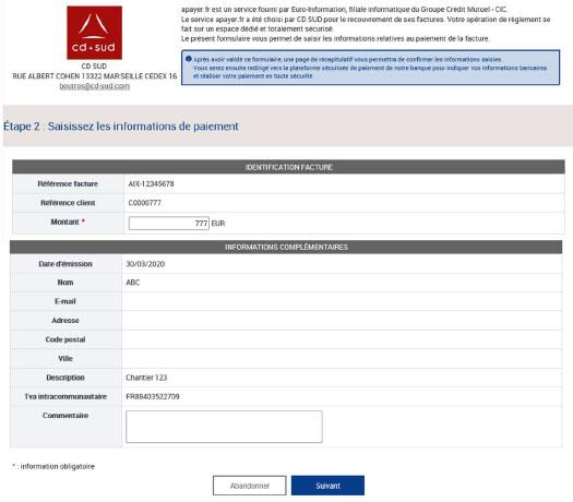 Visuel 2 Plateforme paiement en ligne