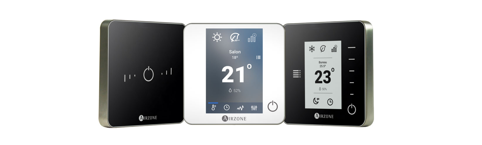 3 thermostats Airzone